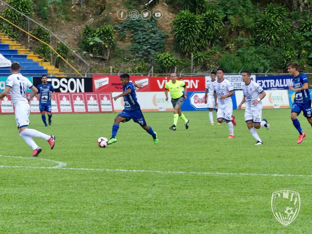 ¡Empate que estanca! Grecia y Guadalupe FC no pudieron sacarse diferencia.