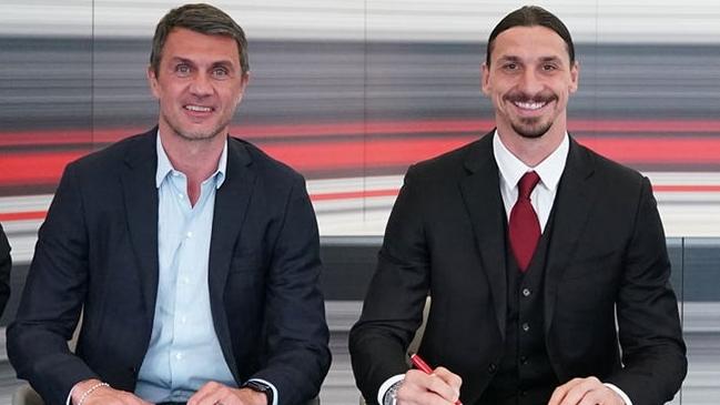 A sus casi 40 años, Zlatan Ibrahimovic renovó su vínculo con AC Milan.