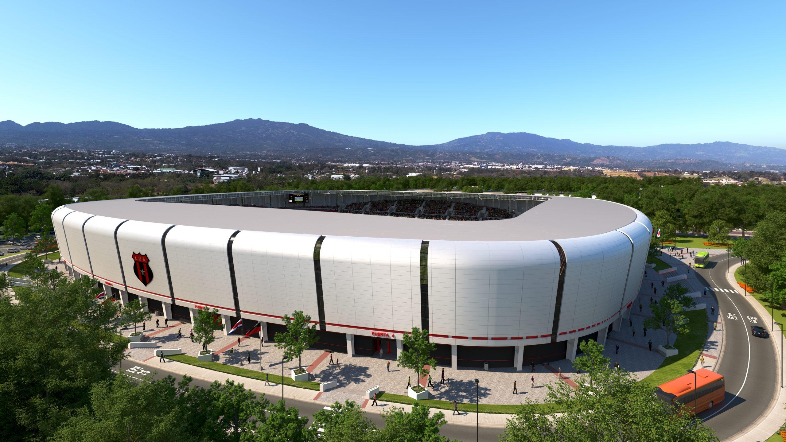 Alajuelense presentó su proyecto de construcción para un nuevo estadio.