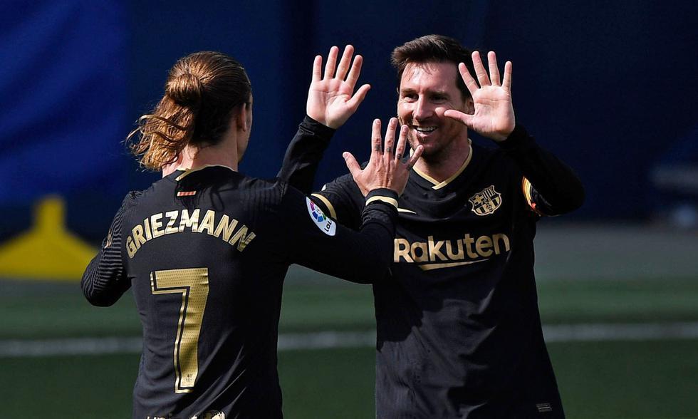 Barcelona sigue al asecho del Atlético de Madrid por el liderato de LaLiga.