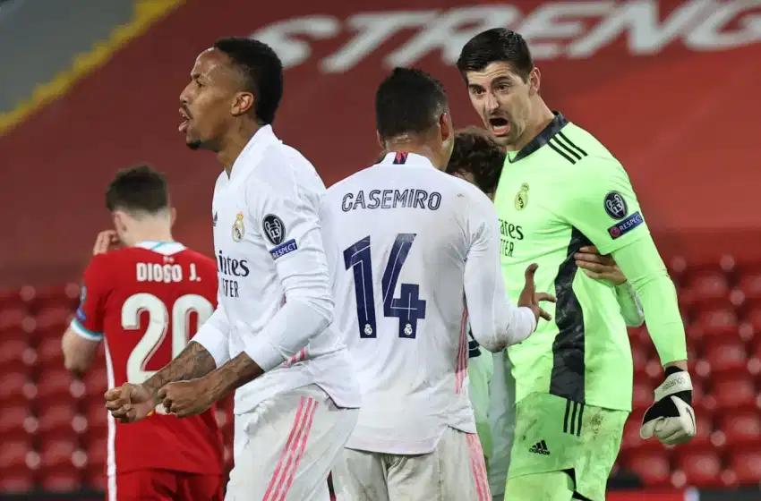 Real Madrid empata en Anfield, elimina al Liverpool y clasifica a semifinales de la Champions.