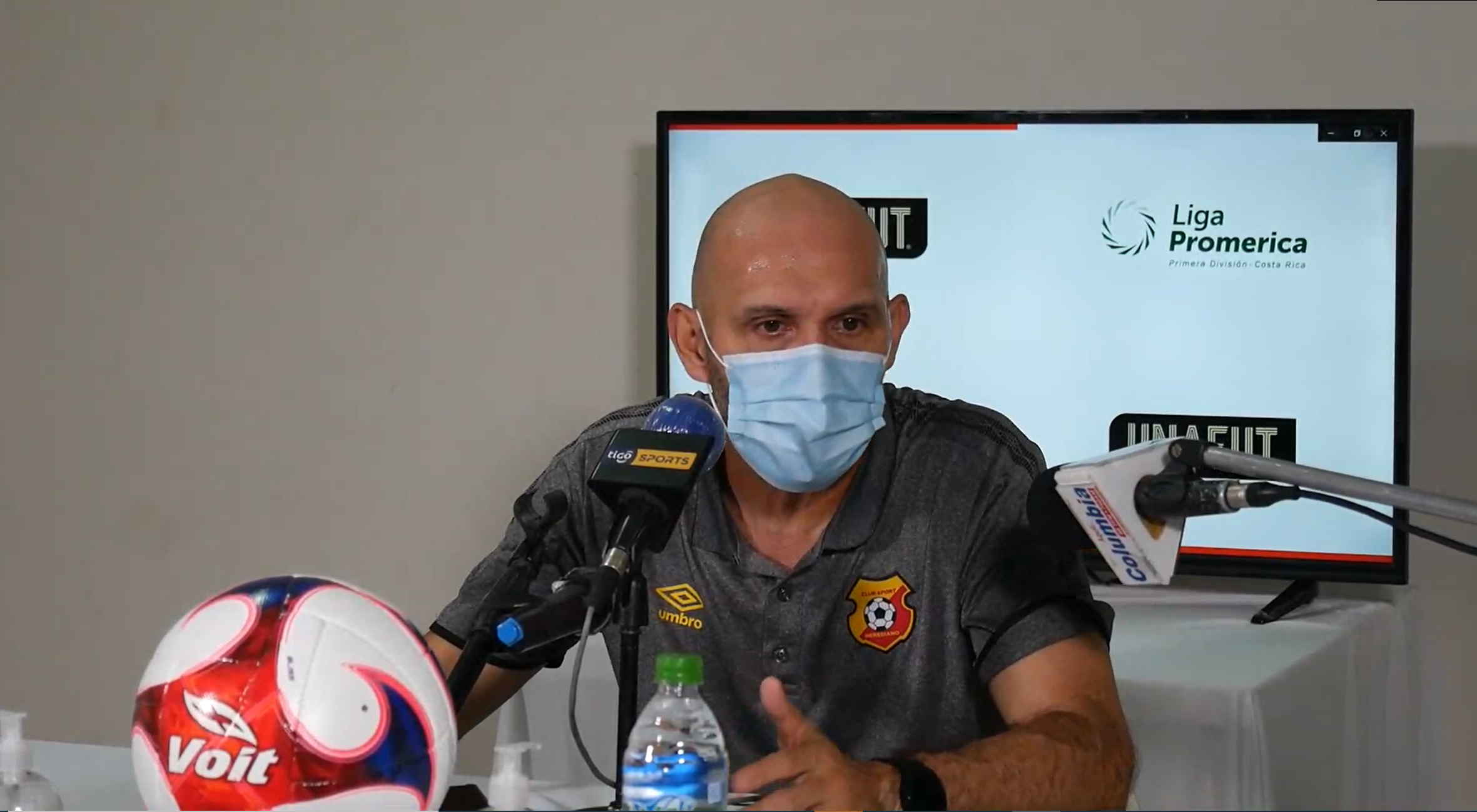 """Luis Marín: """"Dependemos de nosotros mismos, es decir ganando nuestros partidos estamos clasificados""""."""