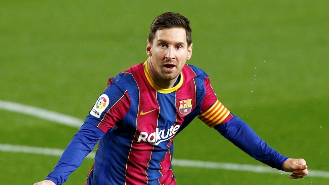 FC Barcelona goleó a Getafe con histórico récord de Lionel Messi.