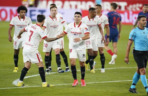 ¡La Liga Española al rojo vivo! Sevilla derrotó al Atlético de Madrid, sonríen Barcelona y Real Madrid