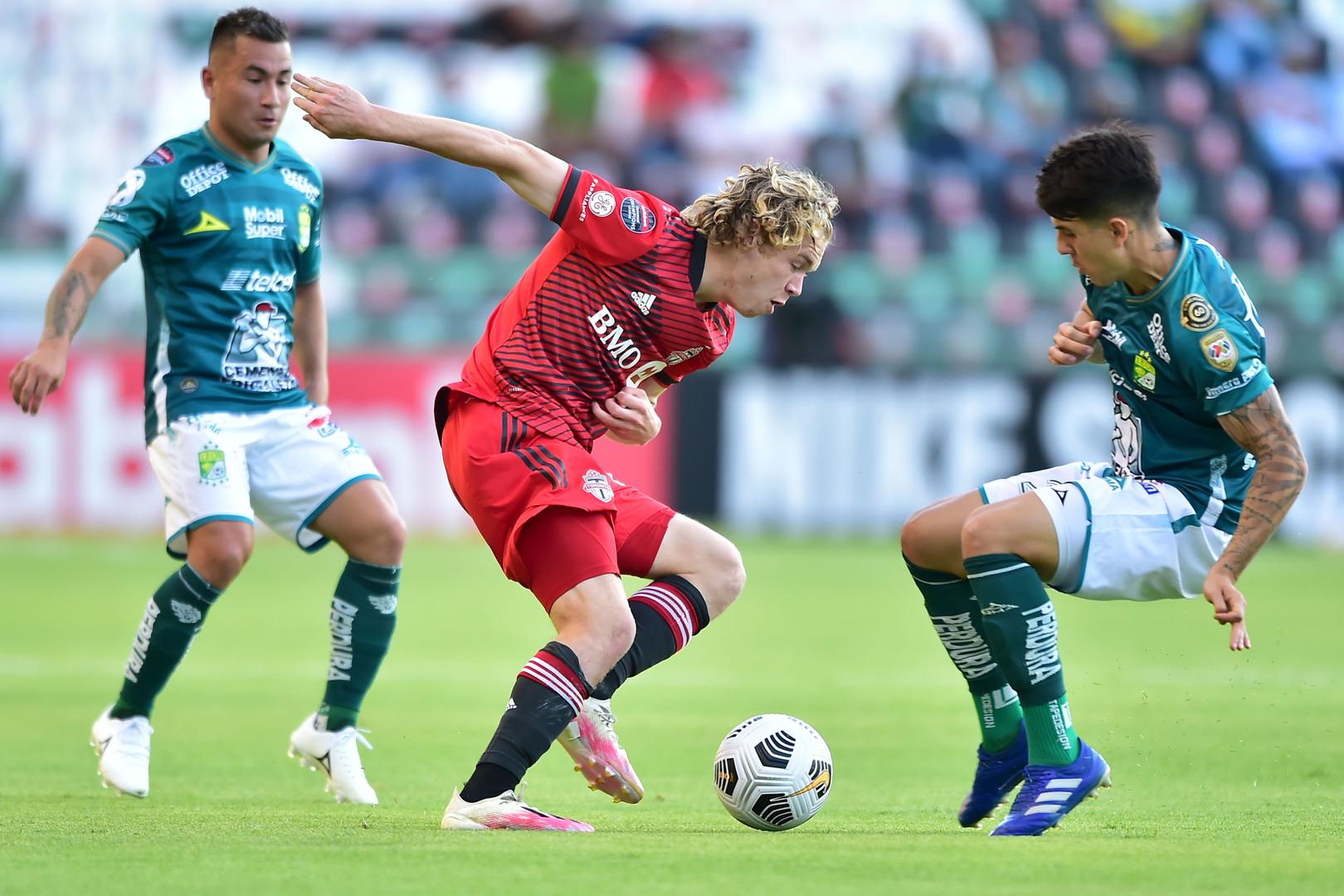 León y Toronto FC empataron por la Liga de Campeones.