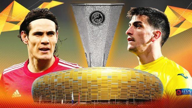 Villarreal y Manchester United se medirán en la final de la UEFA Europa League.
