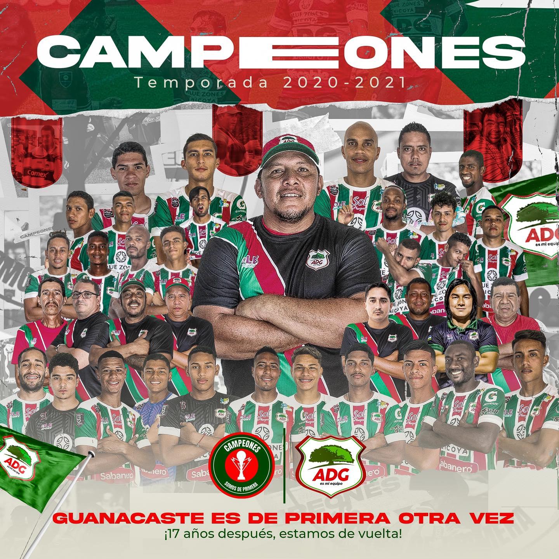 ¡Bienvenidos pamperos! Guanacasteca se corona campeón y es el nuevo inquilino en la máxima categoría.