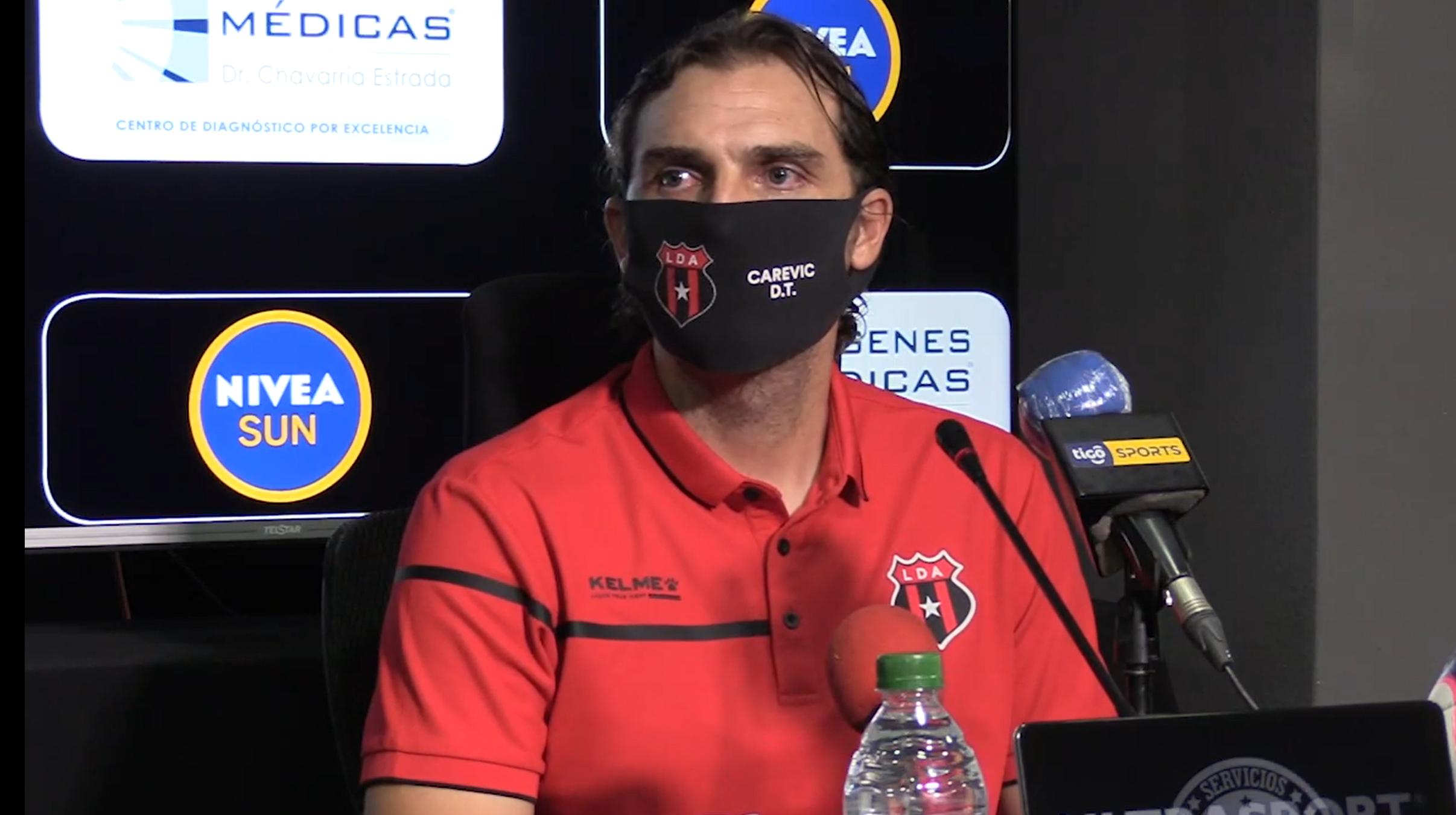 """Andrés Carevic: """"Estamos enfocados en terminar bien el torneo y después pensaremos en las semifinales"""""""