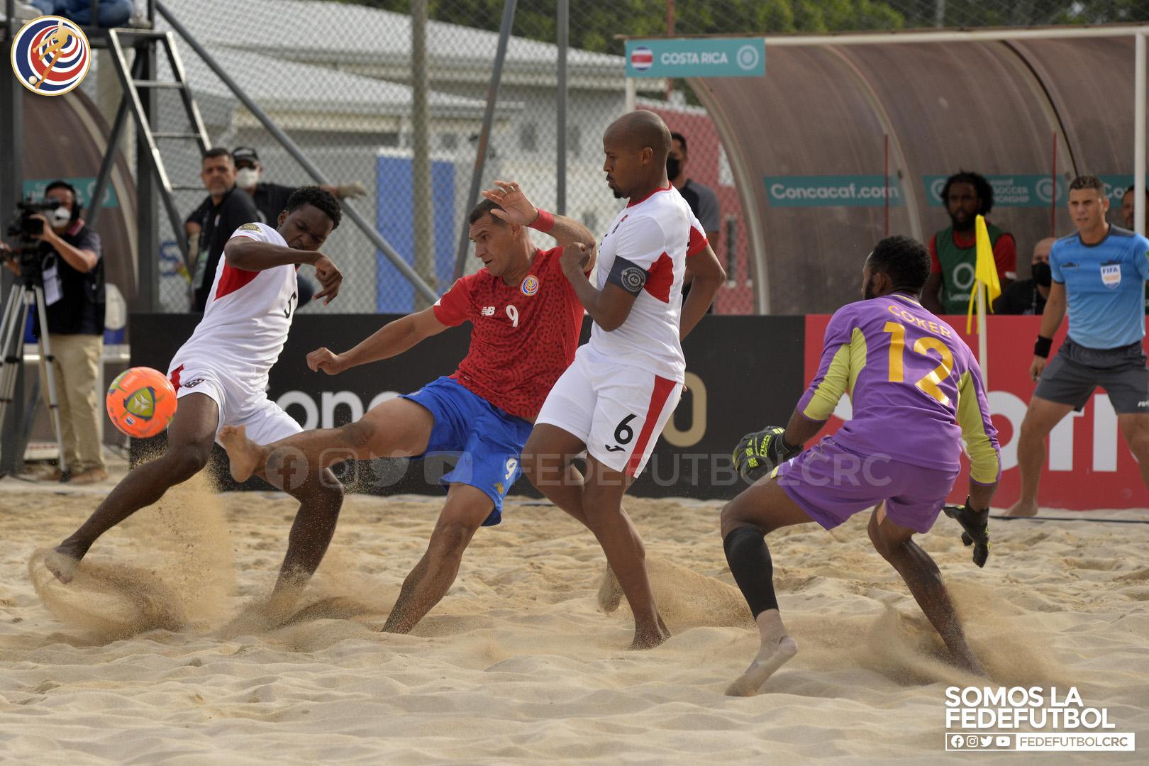 La Sele de Playa debuta con victoria en el Premundial.