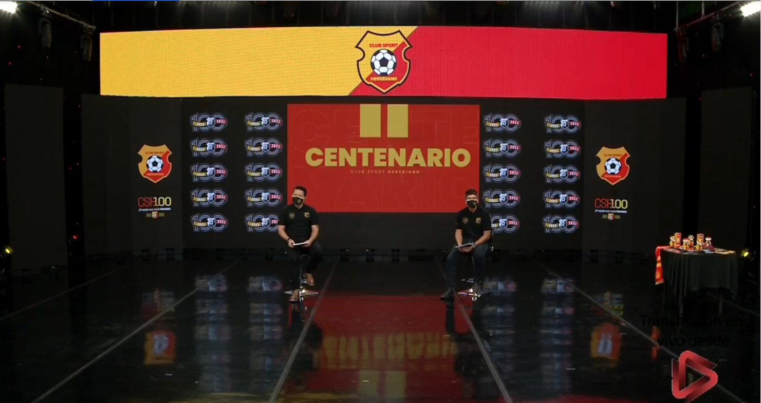 Herediano anunció parte de las actividades que realizará en la celebración del centenario.