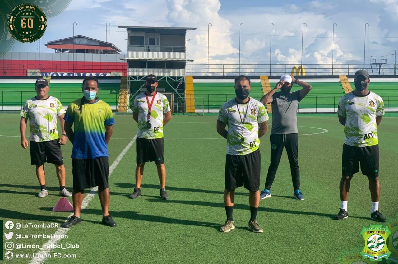 Limón FC nombra a Ricardo Allen como técnico y refuerza el cuerpo técnico.