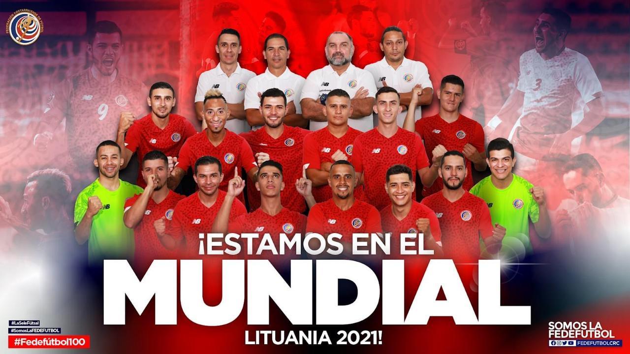 Costa Rica aplastó a Surinam con docena de goles y clasificó a la Copa del Mundo de Fútbol Sala.