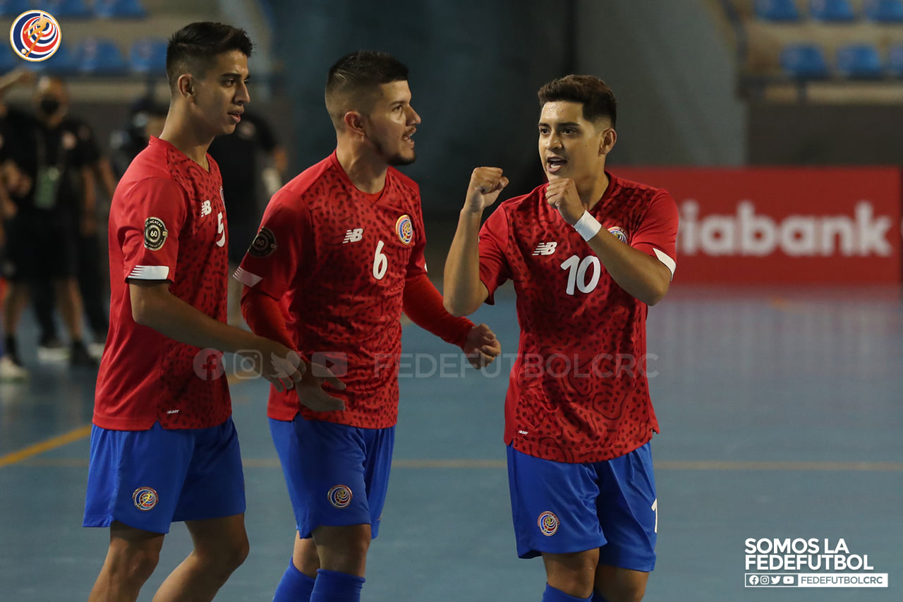 Selección de Fútsal arrolló a Haití en debut del Premundialde la Concacaf.