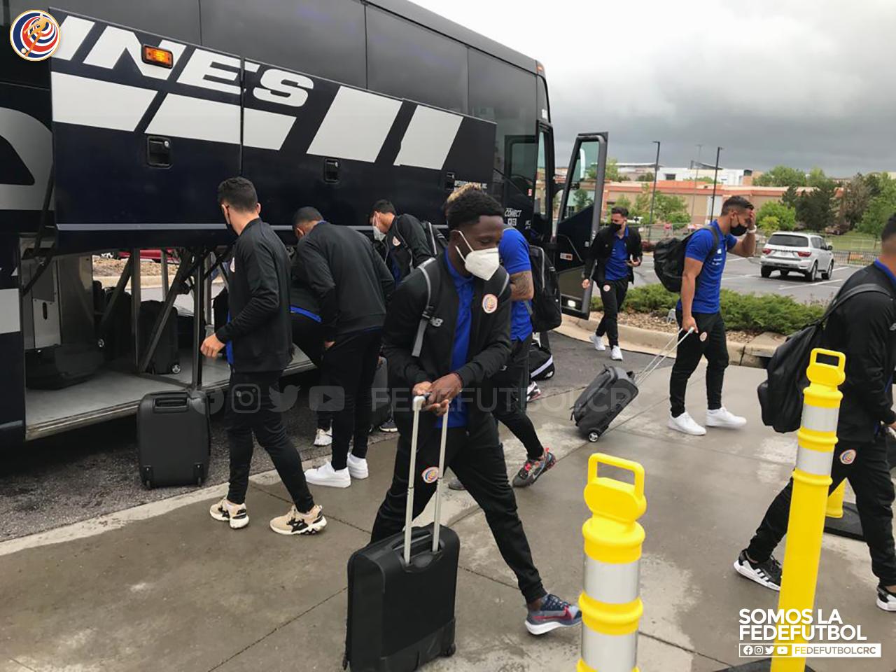 Selección Nacional llegó a Denver para la Final Four.