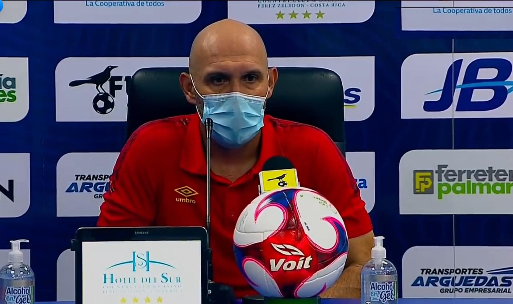 """Luis Marín: """"Si nos metemos somos un rival que puede dar la pelea perfectamente y pelear el campeonato""""."""