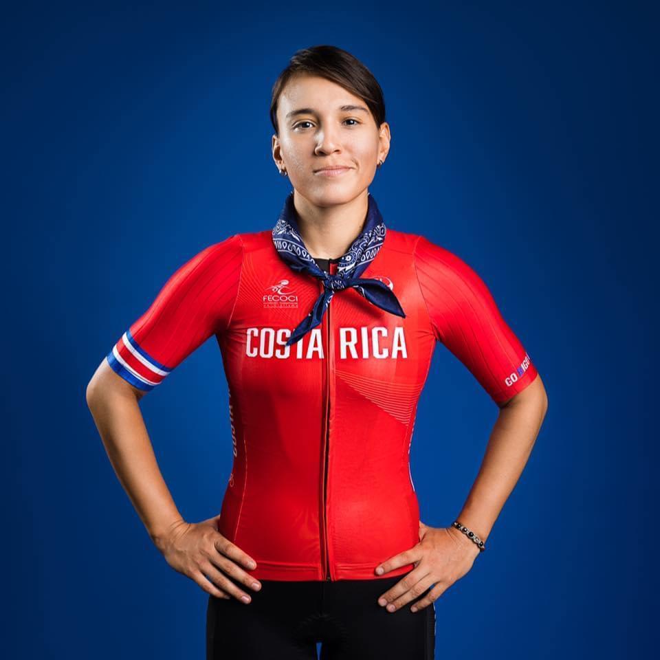 María José Vargas representará a Costa Rica en el ciclismo de Ruta de los Juegos Olímpicos.