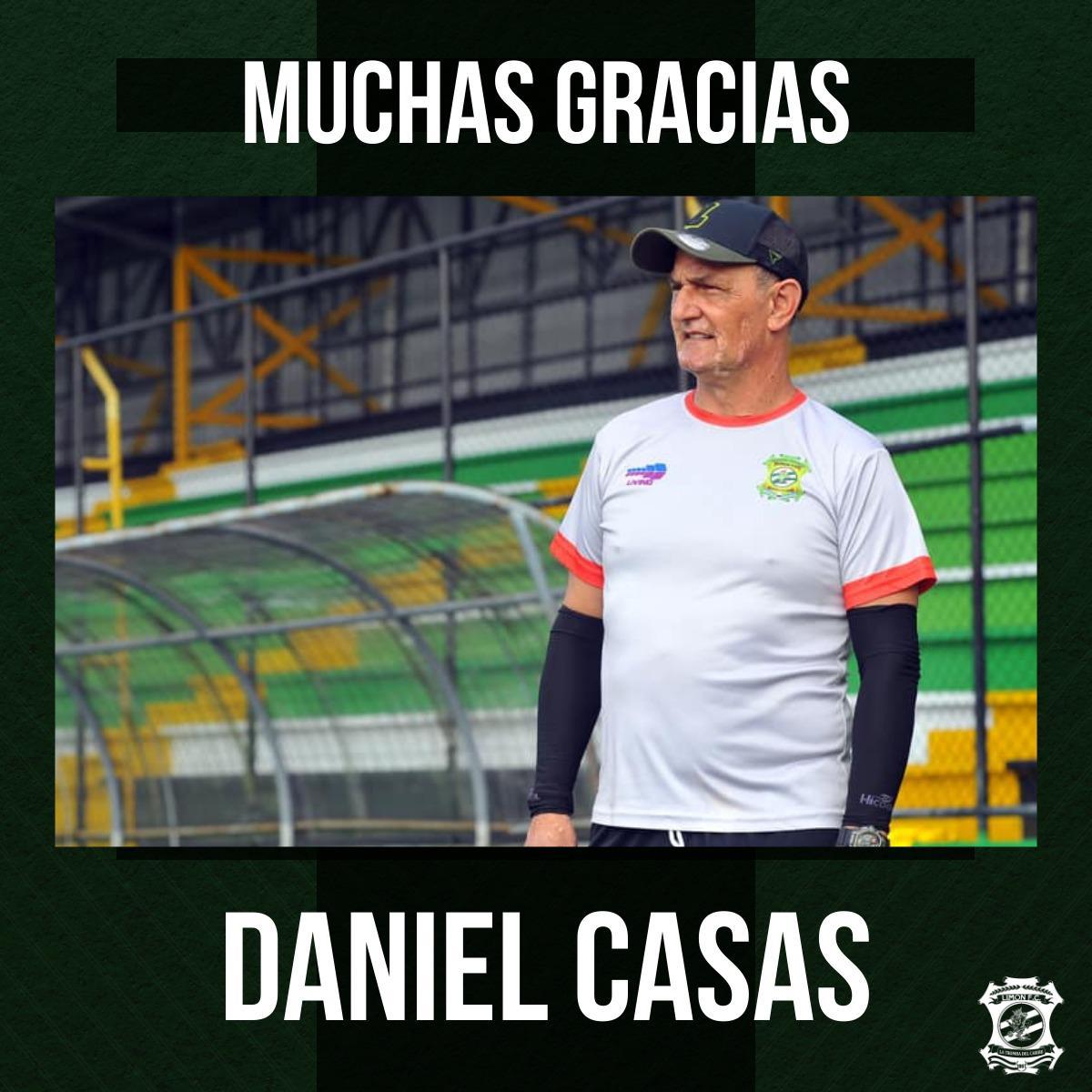 Limón FC destituyó a Daniel Casas a falta de un partido para que termine la fase regular.