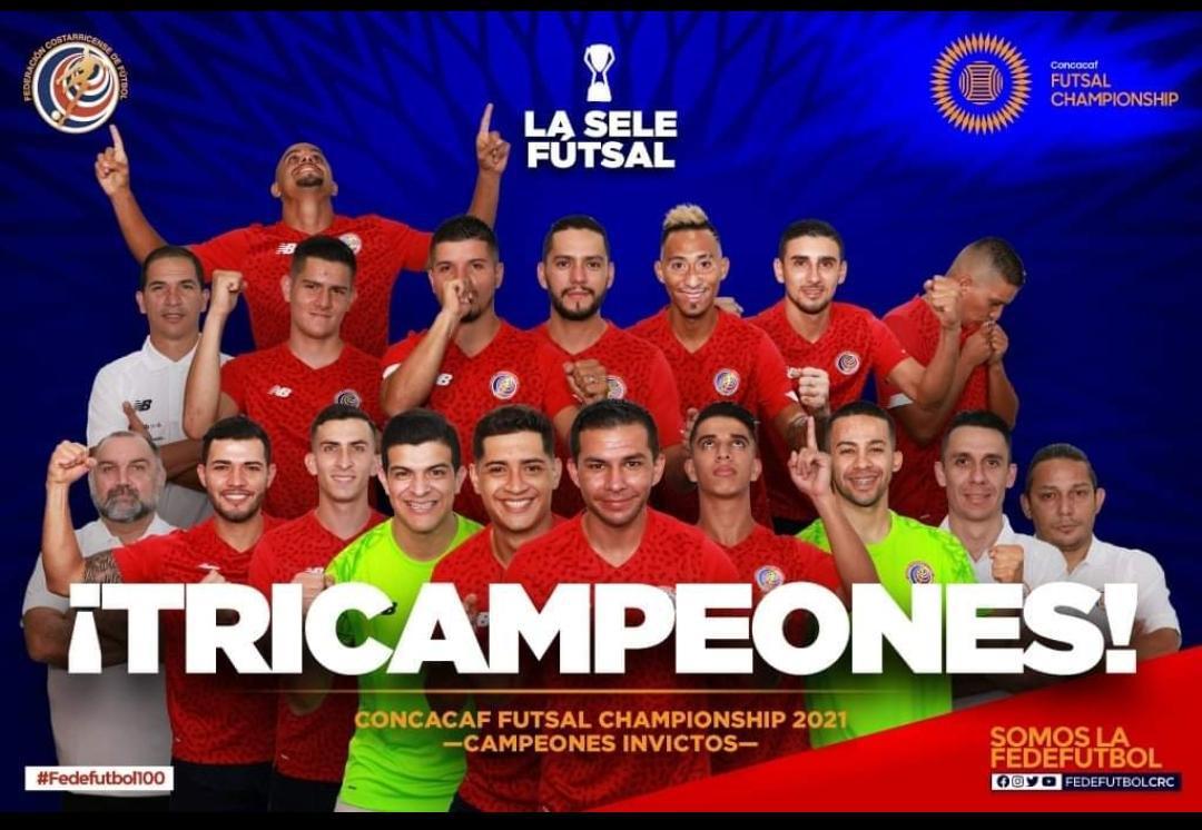 Costa Rica logra el Tricampeonato de Concacaf.