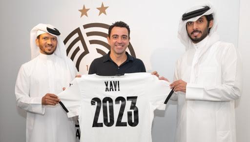 Xavi Hernández renueva por dos años más con el Al-Sadd de Catar.