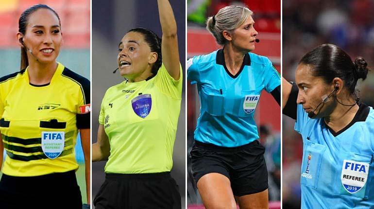 Histórico: Por primera vez, un cuarteto arbitral femenino dirigirá un partido de Copa Libertadores