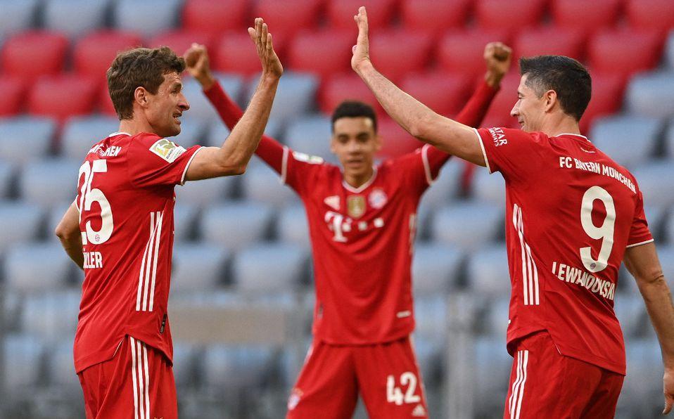 ¡Ya son 31 en la historia! Bayern Múnich consigue su noveno título al hilo en la Bundesliga.