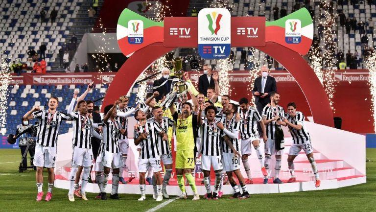 Juventus derrotó al Atalanta y se coronó campeón de la Copa de Italia.