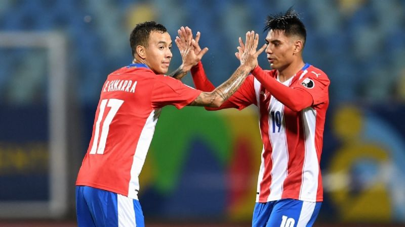 Paraguay le remontó a Bolivia y lidera su grupo en la Copa América.