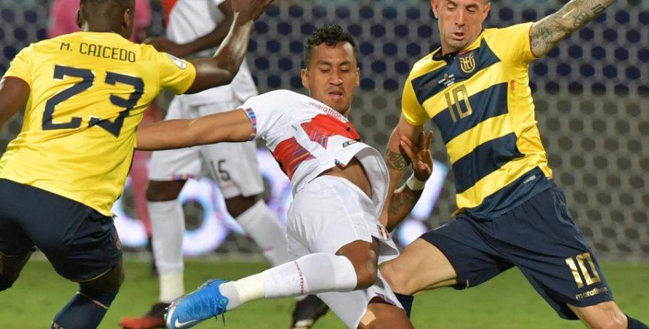 Ecuador y Perú empataron en un electrizante partido por el Grupo B de la Copa América.