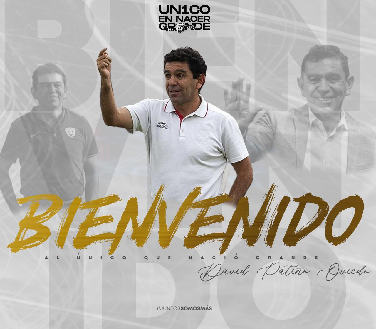 El mexicano David Patiño es el nuevo técnico del Herediano.