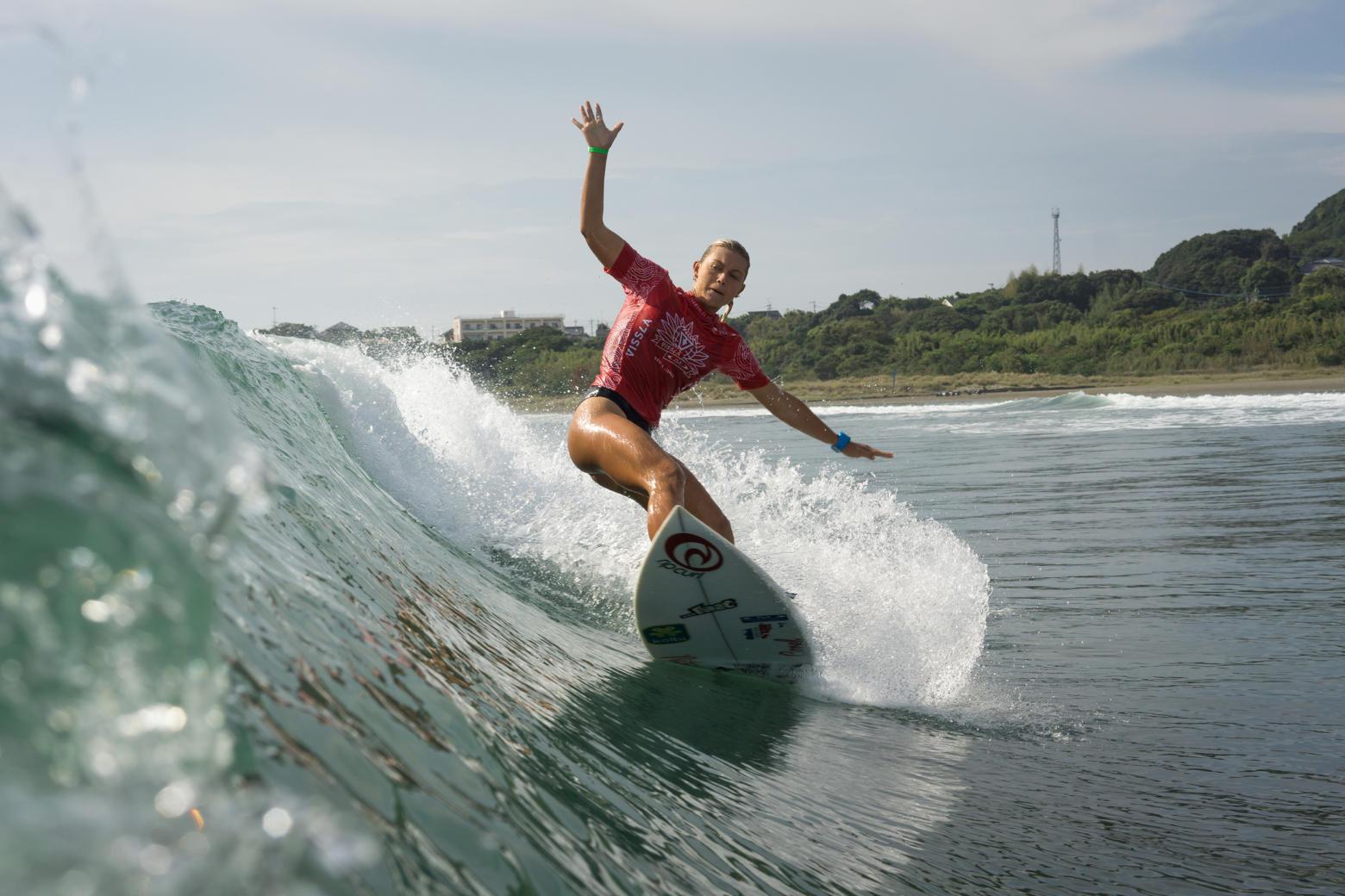 La marchista Noelia Vargas, la surfista Leilani McGonagle y la gimnasta Luciana Alvarado clasificaron a los Juegos Olímpicos.