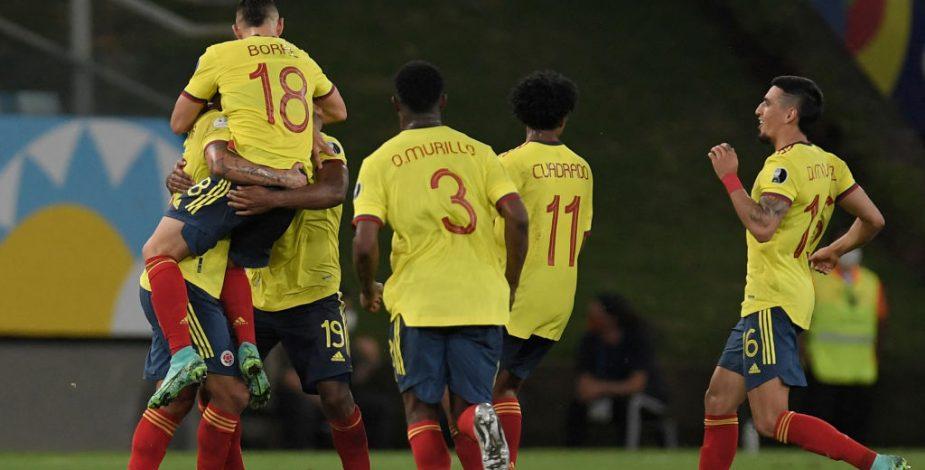 Colombia festejó ante Ecuador y sumó su primera victoria en la Copa América 2021.