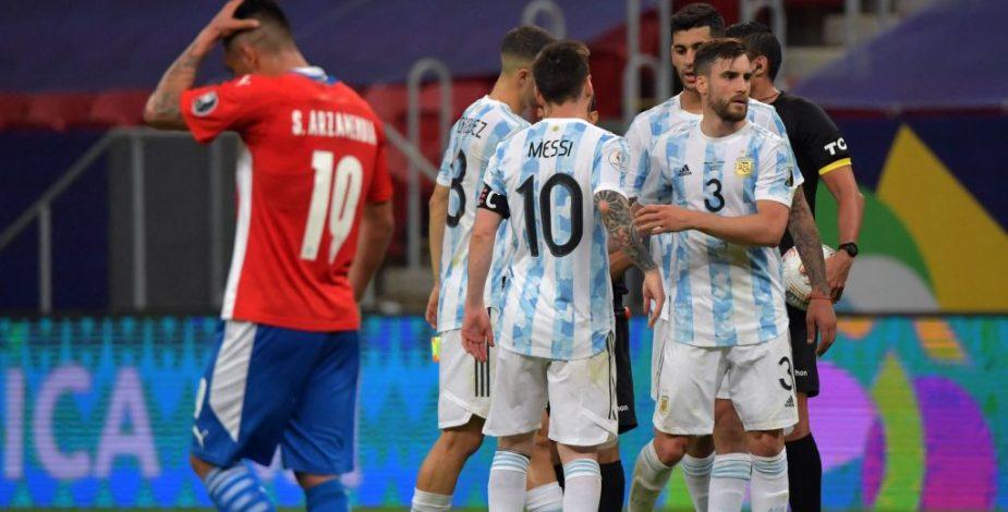 Argentina derrotó por la mínima a Paraguay y clasificó a la siguiente fase de la Copa América.