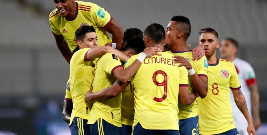 Colombia goleó a Perú y se metió de lleno en la lucha por clasificar al Mundial de Catar 2022