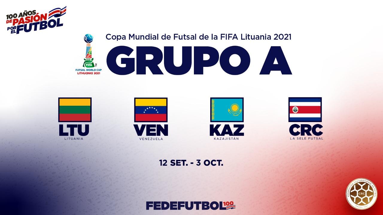 Lituania, Venezuela y Kazajistán: rivales de la Sele de Fútsal en el Mundial.