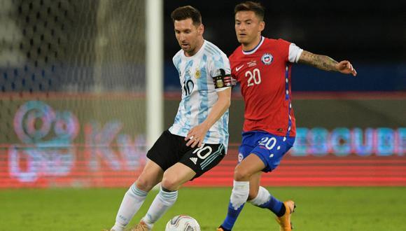 Chile y Argentina empataron 1-1 por el Grupo B de la Copa América 2021.