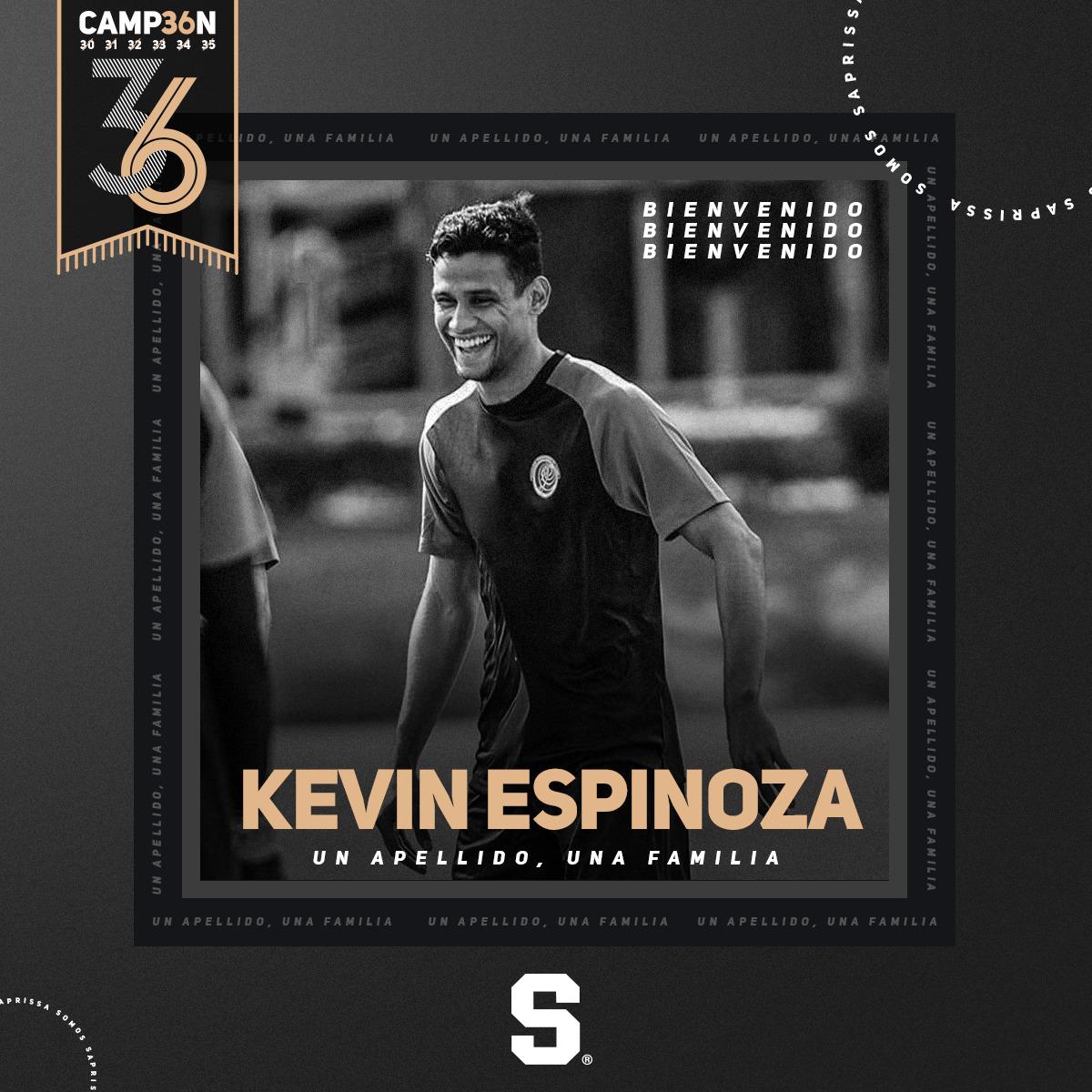 El defensor Kevin Espinoza es el primer refuerzo del Saprissa para el próximo torneo.