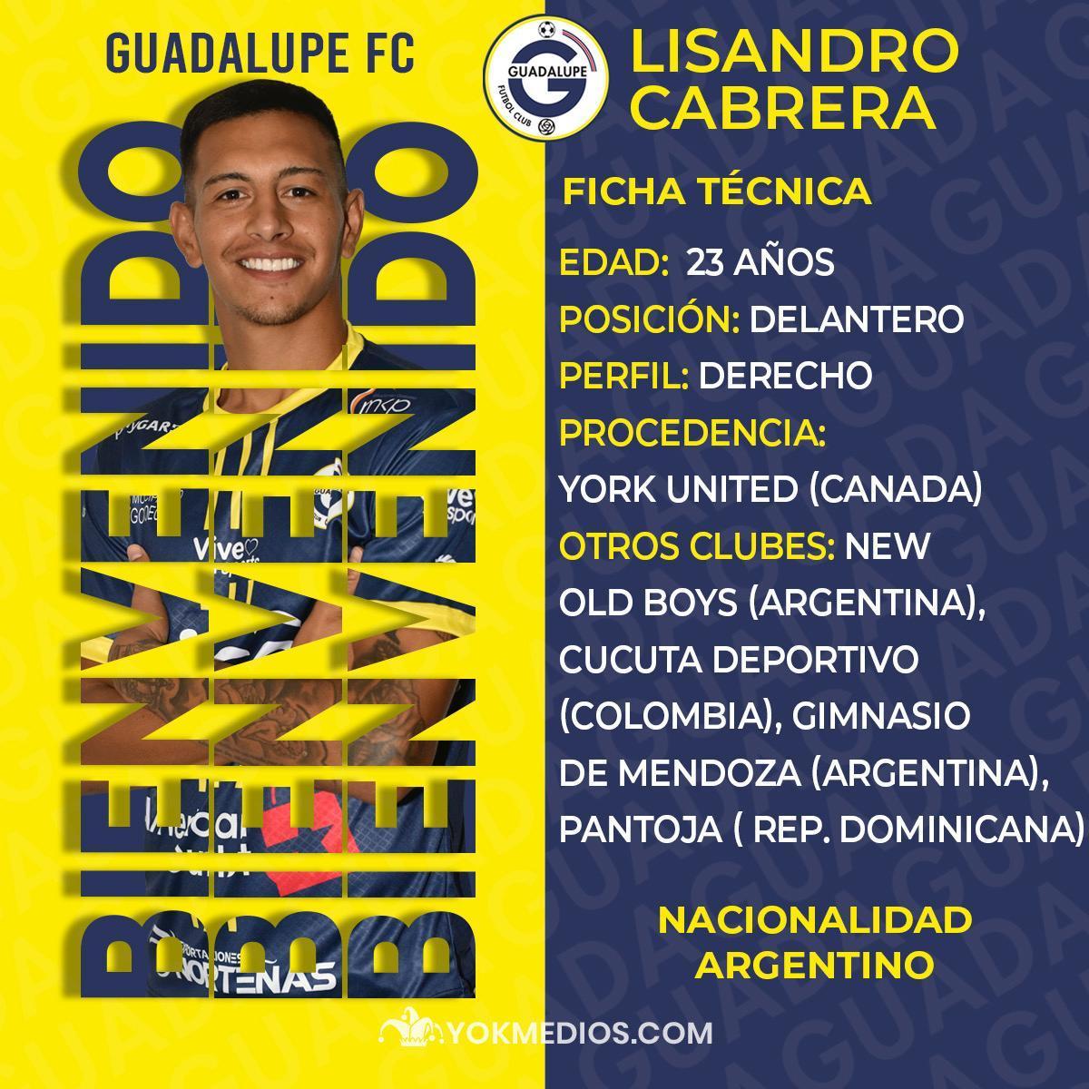 Guadalupe FC se refuerza con dos futbolistas argentinos.
