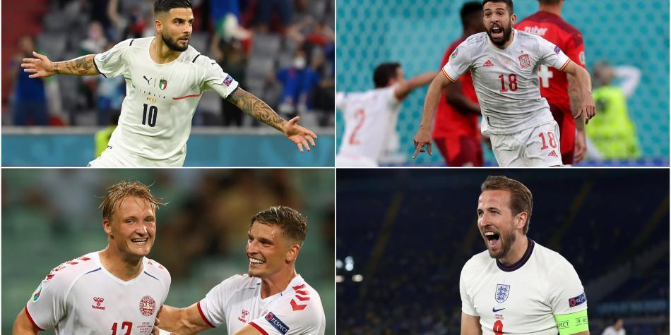 Listas las semifinales de la Euro